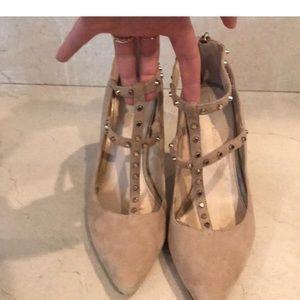 Banana Republic Shoes - Banana republic heels with studded t-strap